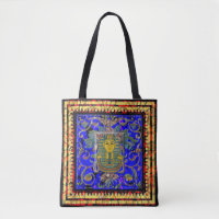Egyptian King Tut Tote Bag