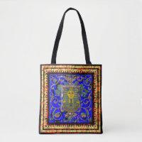 Egyptian King Tut Tote Bag