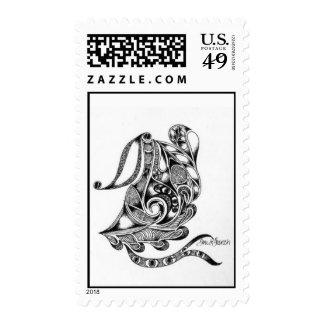 """Egyptian Labyrinth"" Stamp"