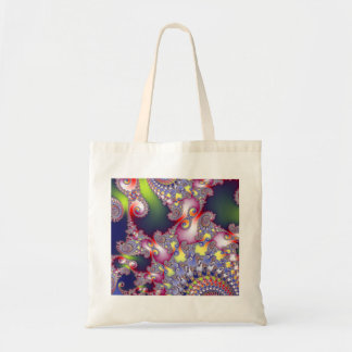 Egyptian Lace Fractal Art Tote