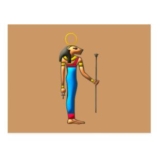 Egyptian lion goddess Sekhmet Sachmet egypt lion Postcard