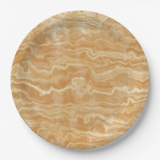 Egyptian Marble Paper Plate