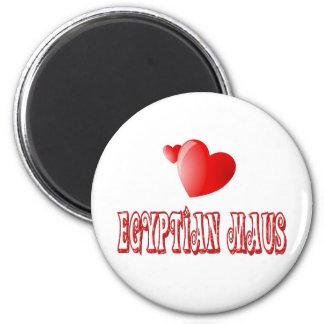 Egyptian Mau Cat Love Refrigerator Magnets