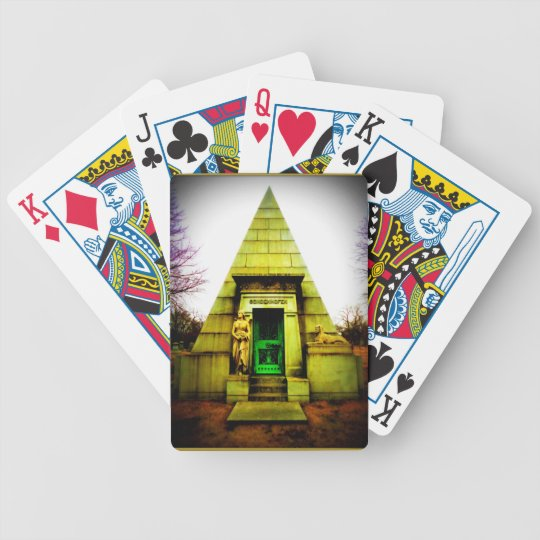 Egyptian Mausoleum Bicycle Playing Cards