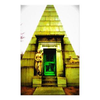 Egyptian Mausoleum Stationery