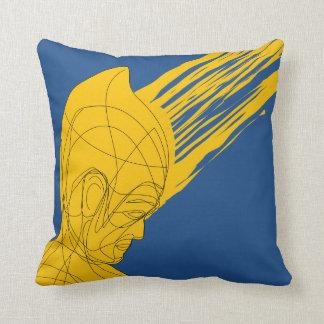 Egyptian Meditator Throw Pillow