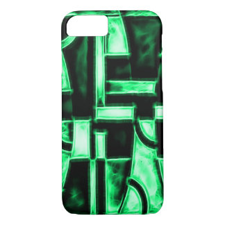 Egyptian Meridian Temple Fractal iPhone 7 Case