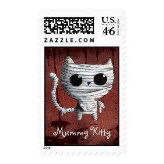 Egyptian Mummy Kitty Cat Postage