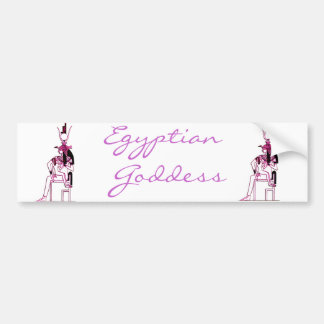 Egyptian Mythology *Isis* Bumper Sticker