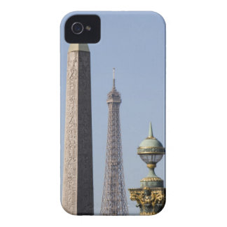 Egyptian Obelisk and lamp in Place de la iPhone 4 Case-Mate Case