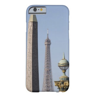 Egyptian Obelisk and lamp in Place de la Barely There iPhone 6 Case