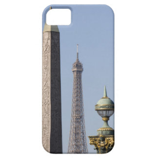 Egyptian Obelisk and lamp in Place de la iPhone 5 Cover