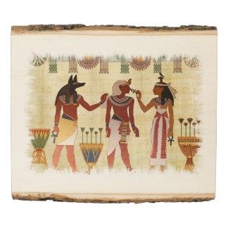 Egyptian Painting Wood Panel