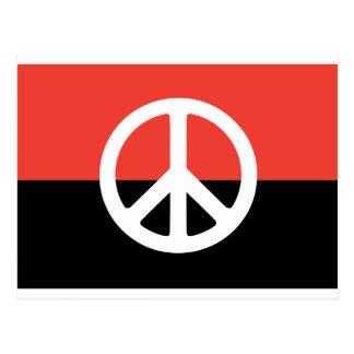 Egyptian Peace Flag Postcard
