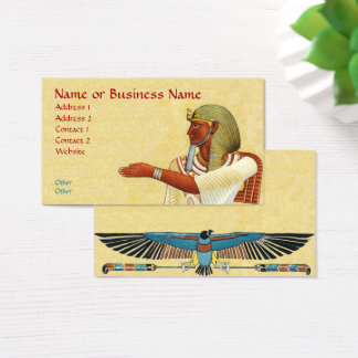 Egyptian Pharaoh Antiquities Business Profile Card