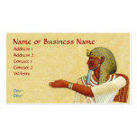 Egyptian Pharaoh Antiquities Business Profile Card Double-Sided Standard Business Cards (Pack Of 100)