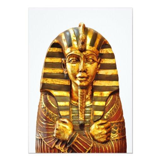 Egyptian Pharaoh Card