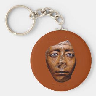 Egyptian Pharaoh Face design Keychain