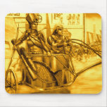 Egyptian Pharaoh in his Chariot Mousepads