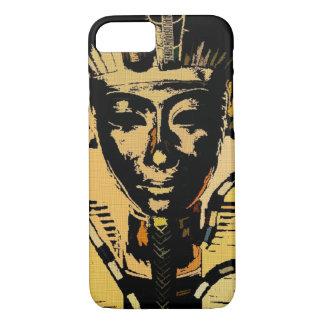 Egyptian Pharaoh King Denim Art iPhone 8/7 Case