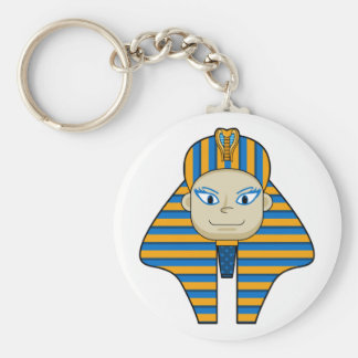Egyptian Pharaoh King Keychain