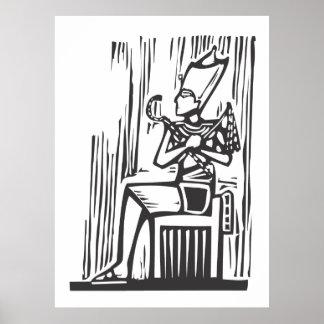 Egyptian Pharaoh Poster