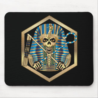 Egyptian Pharaoh Skull Mouse Pad