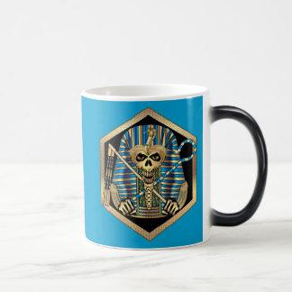 Egyptian Pharaoh Skull Coffee Mugs