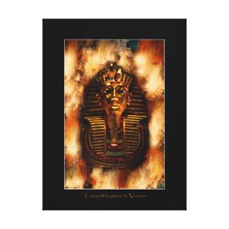 Egyptian Pharaoh Tutankhamen Art Study II Canvas Print