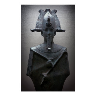 EGYPTIAN PHARAOH with Serpent Headdress Poster