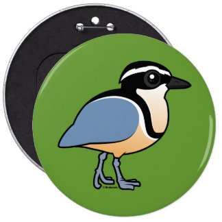 Egyptian Plover Button