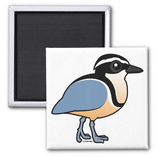 Egyptian Plover Fridge Magnet