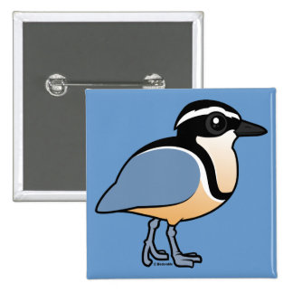 Egyptian Plover Pinback Button