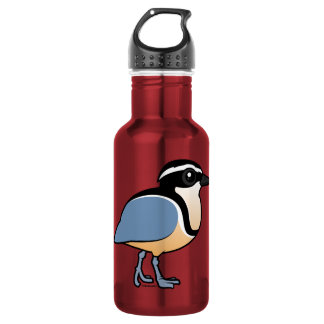 Egyptian Plover Water Bottle