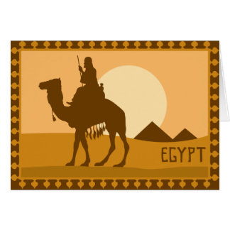 Egyptian Poster Card