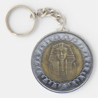 Egyptian Pound Keychain