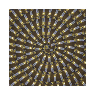 Egyptian Princess Abstract Spiral Pattern, Canvas Print