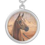 Egyptian Princess Arabian horse necklace