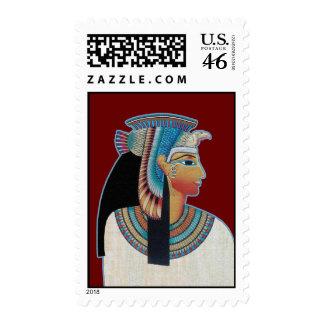 Egyptian Princess Postage Stamps