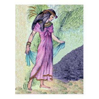 Egyptian Princess Postcard