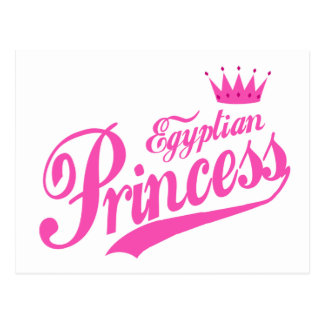Egyptian Princess Post Card