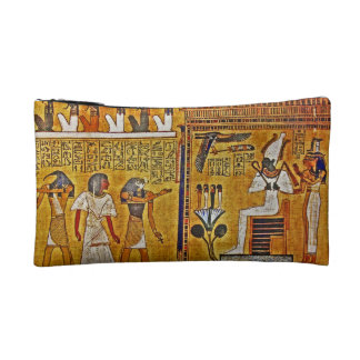 Egyptian Pyramid Art Makeup Bag