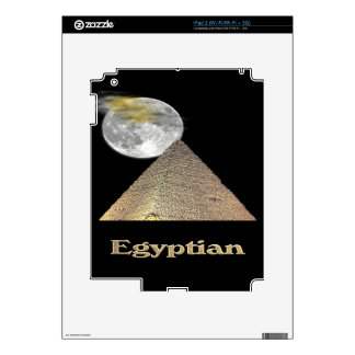 Egyptian pyramid  t-shirts and more decals for iPad 2