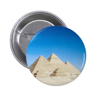 Egyptian Pyramids 2 Inch Round Button