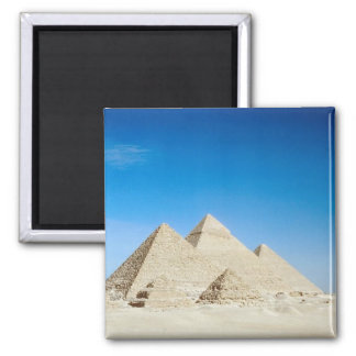 Egyptian Pyramids 2 Inch Square Magnet