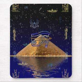 Egyptian Pyramids Fantasy Art Lover's Mousepad