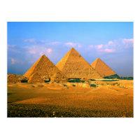 Egyptian Pyramids Postcard :
