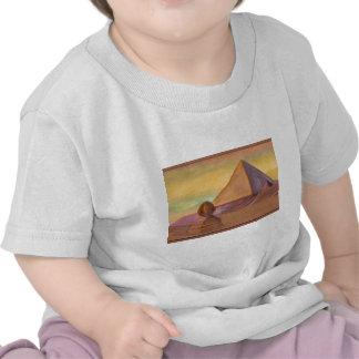 Egyptian pyramids t-shirts