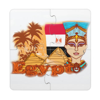 Egyptian queen cleopatra Coaster Puzzle Puzzle Coaster