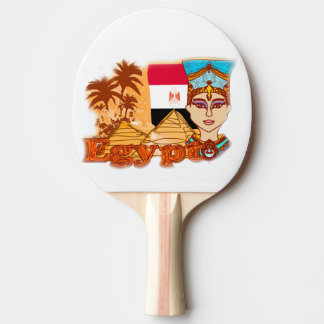 Egyptian queen cleopatra Ping Pong Paddle